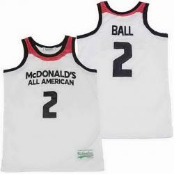 LONZO BALL #2 MCDONALDS BASKETBALL JERSEY LONZO
