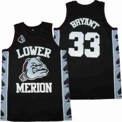 Lower Merion Kobe Bryant 24 High ScHool Jersey 33 10