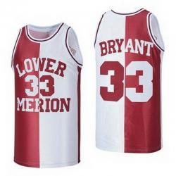 Lower Merion Kobe Bryant 24 High ScHool Jersey 33 6