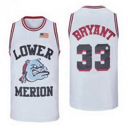 Lower Merion Kobe Bryant 24 High ScHool Jersey 33 9