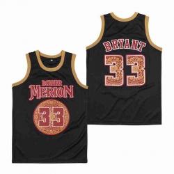 Lower Merion Kobe Bryant 24 High ScHool Jersey 33