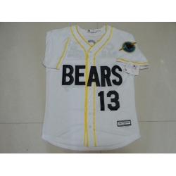 NCAA Film Bears 13 White Stitched Jersey