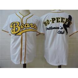 NCAA Film Bears Bo-Peer White Stitched Jersey