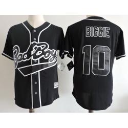 NCAA Film Jersey Badboy Biggie 10 Black Stitched Jersey