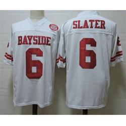 NCAA Film Jersey Bayside Slater 6 White Stitched Jersey