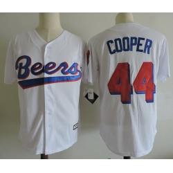 NCAA Film Jersey Beers Cooper 44 White Stitched Jersey