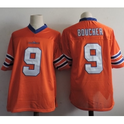 NCAA Film Jersey Boucher 9 Orange Stitched Jersey