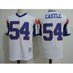 NCAA Film Jersey Castle 54 White Stitched Jersey