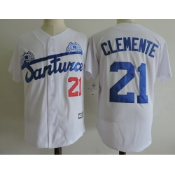 NCAA Film Jersey Clement 21 White Stitched Jersey