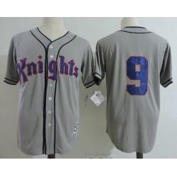 NCAA Film Jersey Knights 9 Grey Stitched Jersey