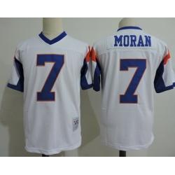 NCAA Film Jersey Moran 7 White Stitched Jersey